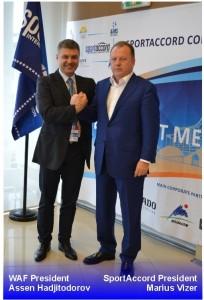 Presidente WAF, presidente SportAccord